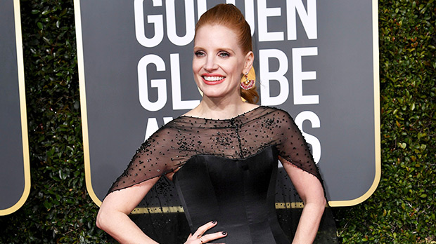 Jessica Chastain Golden Globes 2019