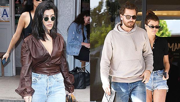 Kourtney Kardashian, Scott Disick & Sofia Richie