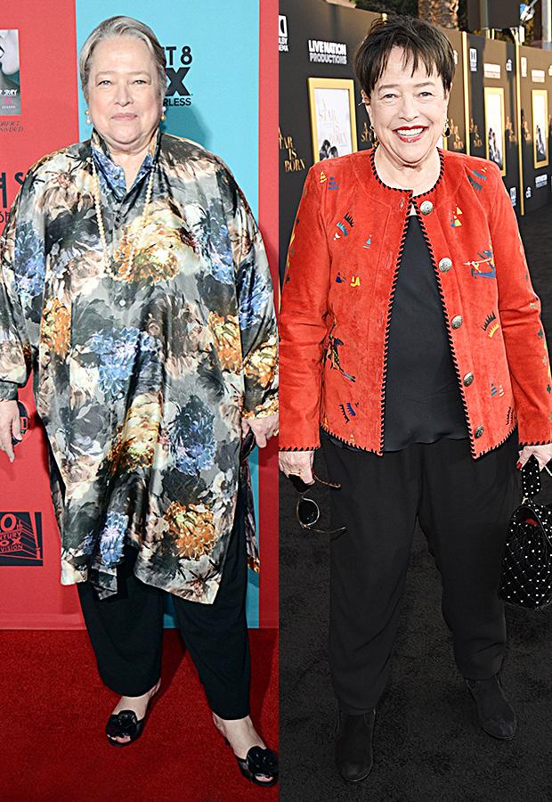Kathy Bates weight loss transformation