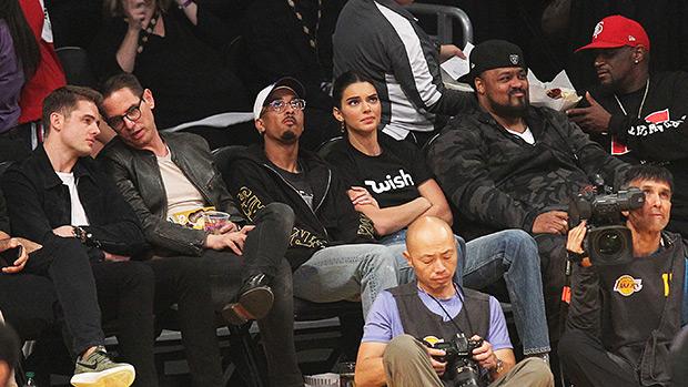 Kendall Jenner courtside