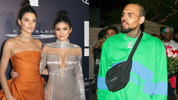 kendall kylie jenner chris brown