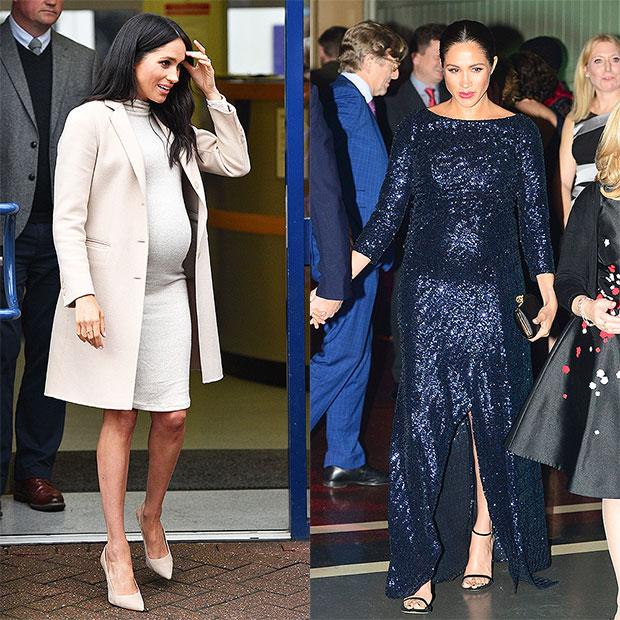 Meghan Markle dresses H&M designer