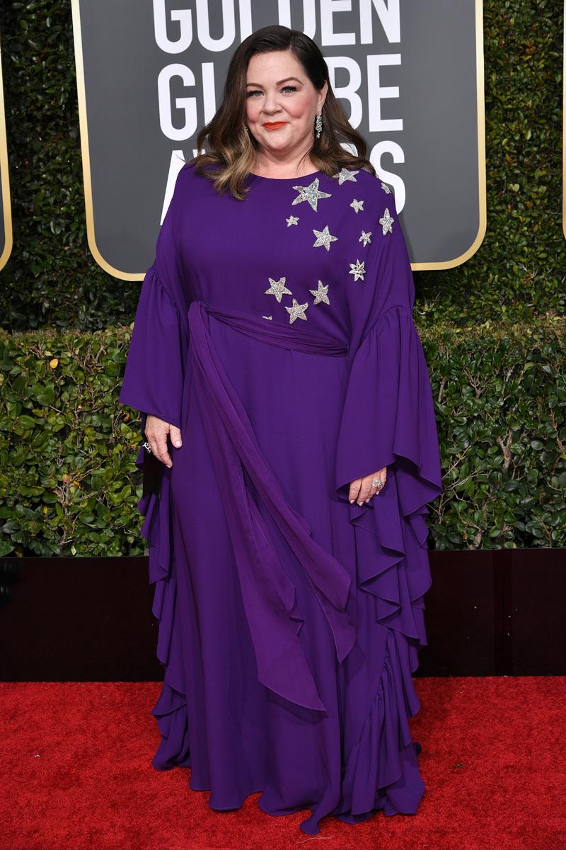 Melissa McCarthy 76th Annual Golden Globe Awards, Arrivals, Los Angeles, USA - 06 Jan 2019
