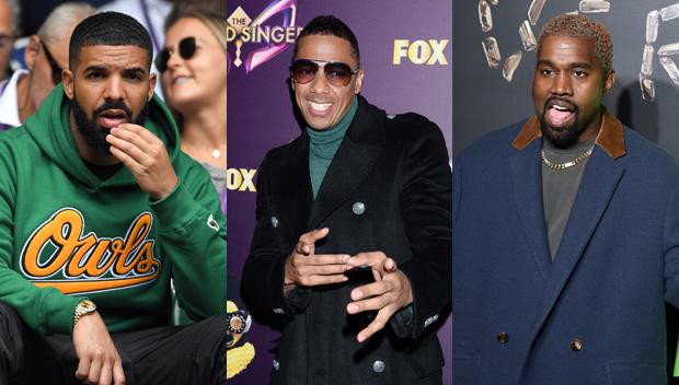 Nick Cannon Kanye West Drake