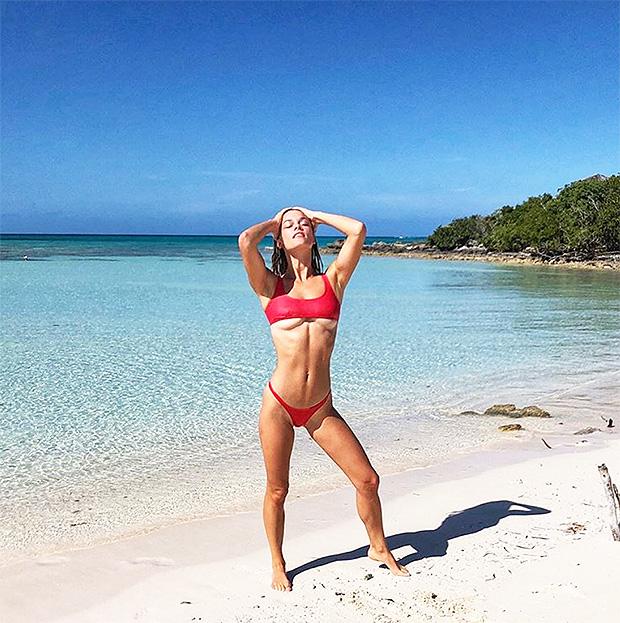 Nina Agdal In Turks & Caicos