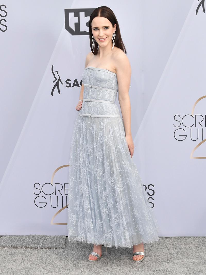 Rachel Brosnahan 25th Annual Screen Actors Guild Awards, Arrivals, Los Angeles, USA - 27 Jan 2019