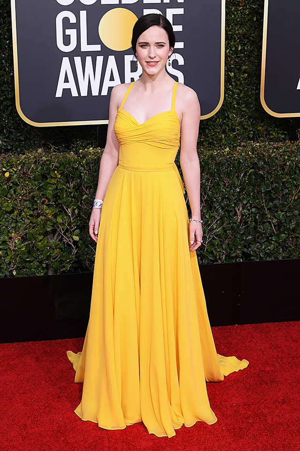 Rachel Brosnahan Golden Globes 2019