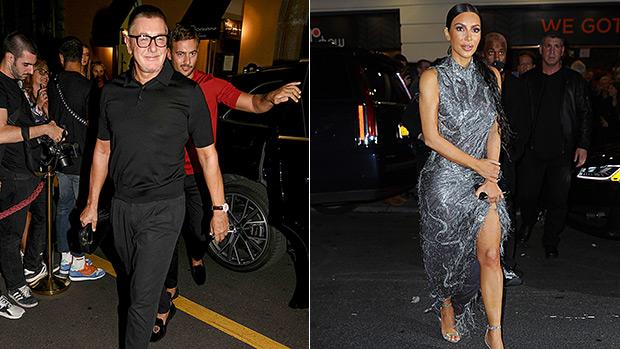 Stefano Gabbana Kim Kardashian