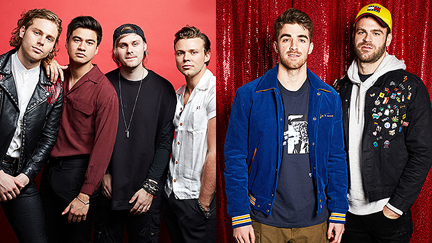 5SOS The Chainsmokers tour