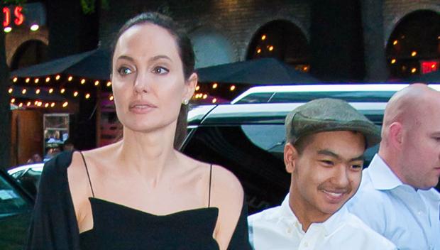 Angelina Jolie and Maddox Jolie Pitt