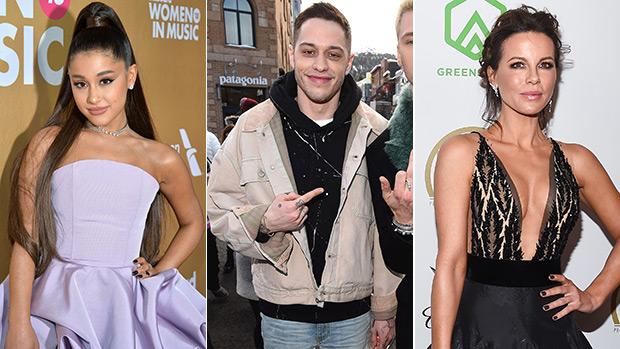Ariana Grande, Pete Davidson & Kate Beckinsale
