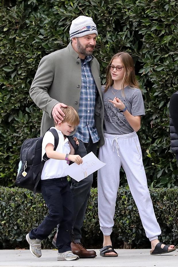 Ben Affleck With His Kids