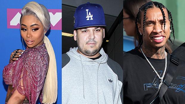 Blac Chyna, Rob Kardashian & Tyga