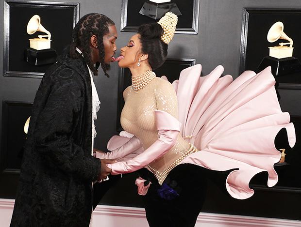 Cardi B Offset Grammys