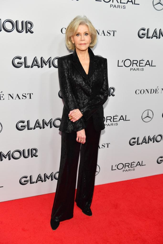 Jane FondaGlamour Women of the Year Awards, Arrivals, New York, USA - 11 Nov 2019