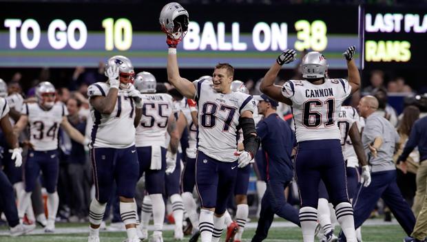 Celebrity Reaction Super Bowl 53