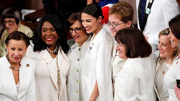 Democratic Congresswomen in White