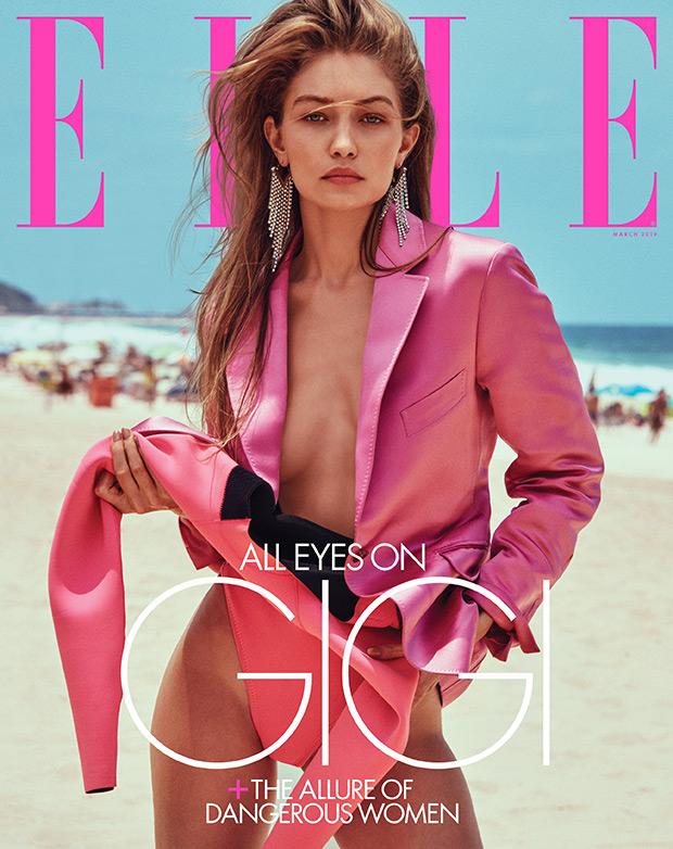 Gigi Hadid Elle Cover