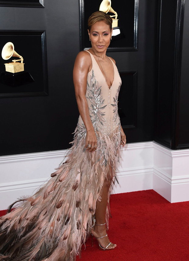 Jada Pinkett Smith arrives at the 61st annual Grammy Awards at the Staples Center, in Los Angeles61st Annual Grammy Awards - Arrivals, Los Angeles, USA - 10 Feb 2019