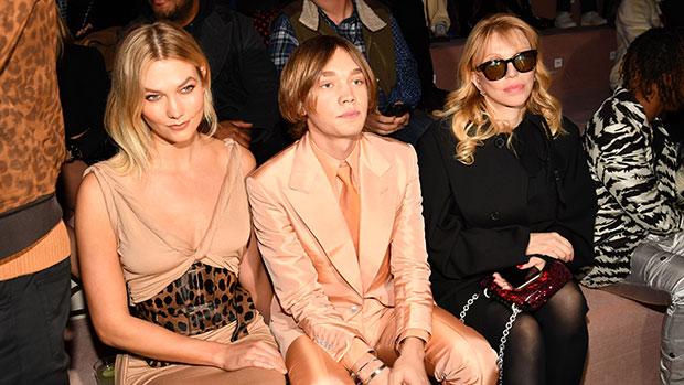 stars front row new york fashion week