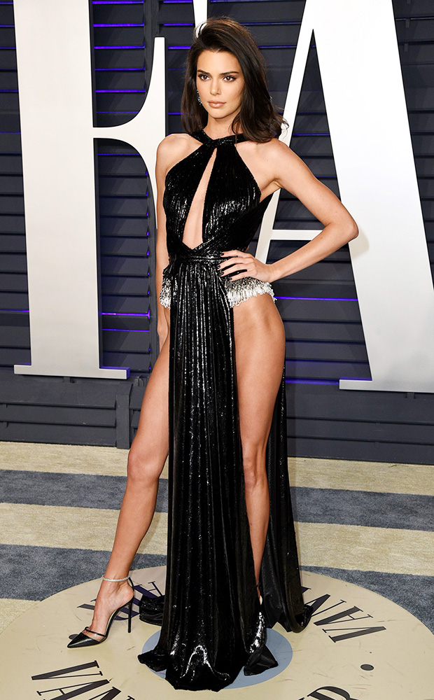 Kendall JennerVanity Fair Oscar Party, Arrivals, Los Angeles, USA - 24 Feb 2019 Wearing Rami Kadi