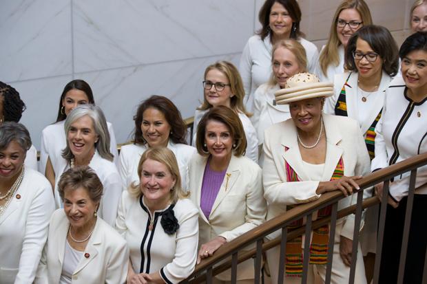 Democratic Women in White