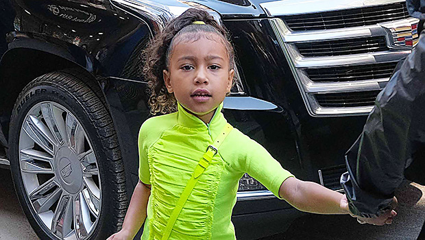 North WestKim Kardashian out and about, New York, USA - 29 Sep 2018
