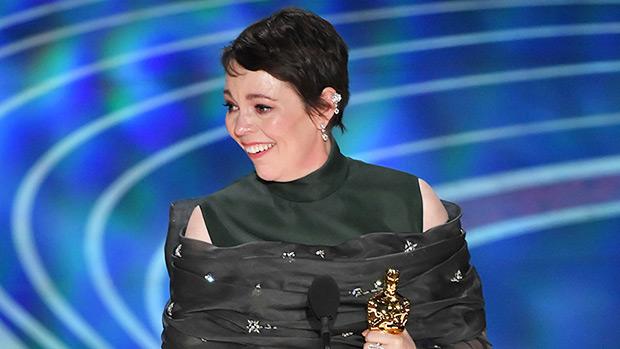 Olivia Colman Oscars 2019