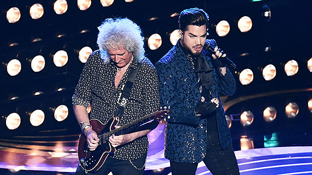 Queen Adam Lambert S Performance At Oscars 2019 Slay Greatest Hits Hollywood Life