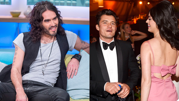 Russell Brand Reacts Katy Perry Orlando Bloom Engaged