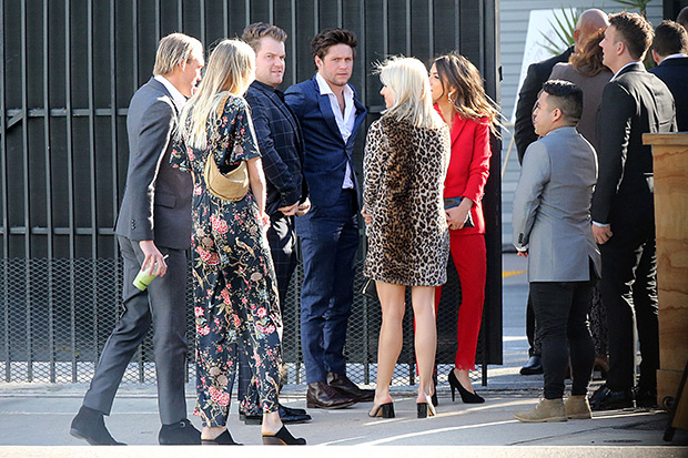 Niall Horan Courtney Barry Wedding