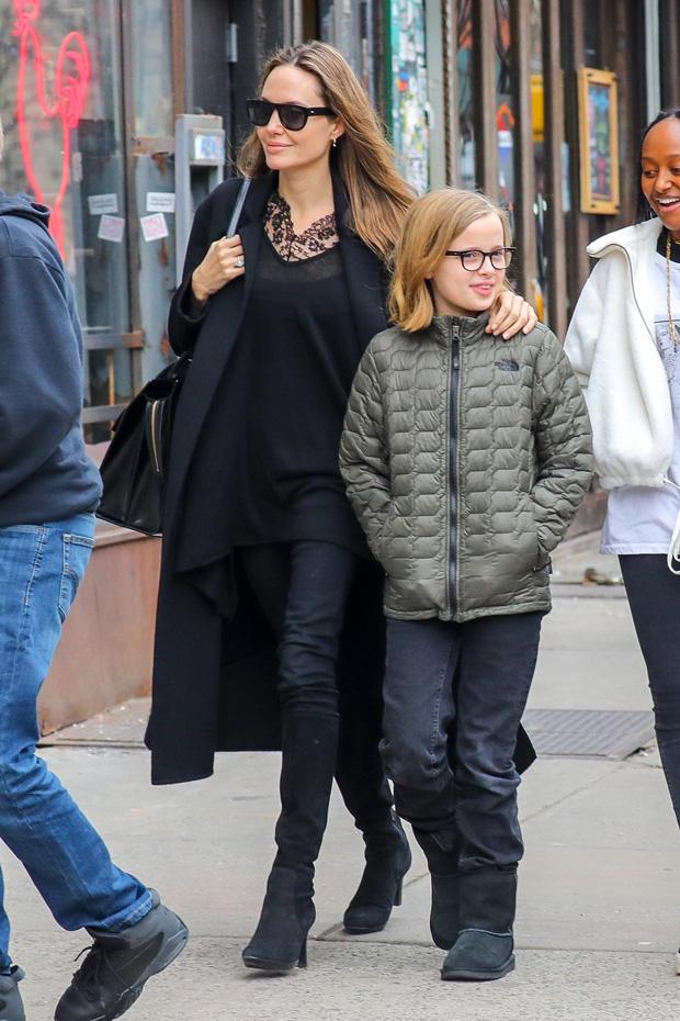 Angelina Jolie Vivienne Shiloh Zahara