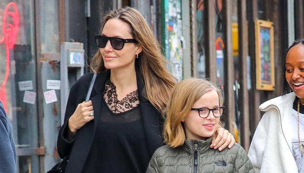 Vivienne Jolie Pitt Angelina Shiloh Zahara