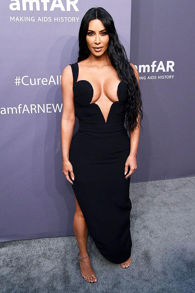 Kim Kardashian amFar