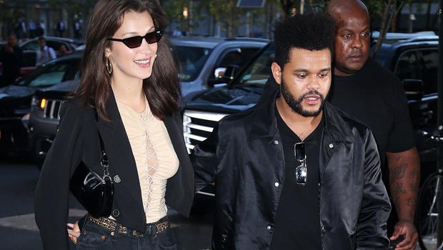 The Weeknd Bella Hadid Twin