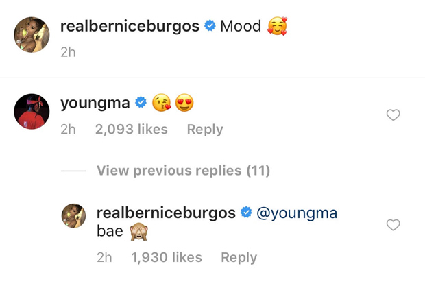 Young M.A Bernice Burgos Dating