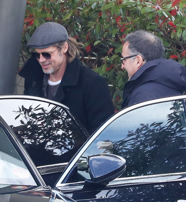 Brad Pitt In Paris, March 2019
