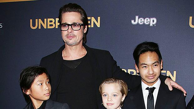 Brad Pitt Angelina Jolie spoiling kids