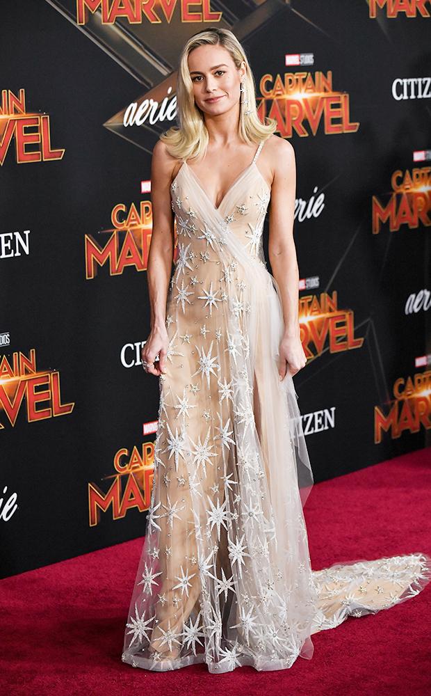 Brie Larson at 'Captain Marvel' LA Premiere