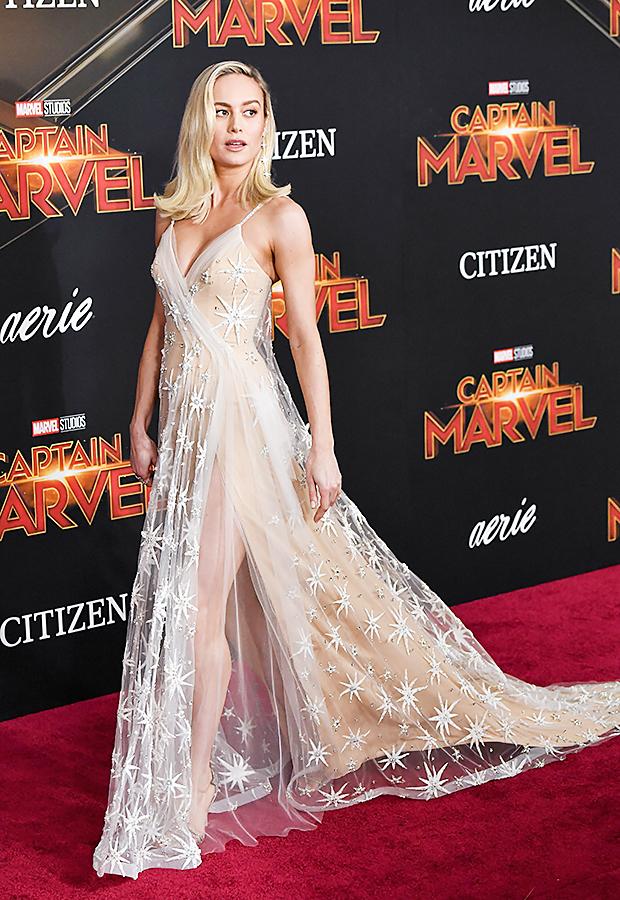 Brie Larson at 'Captain Marvel' Premiere in LA