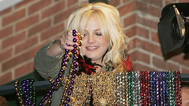 Britney Spears Mardi Gras