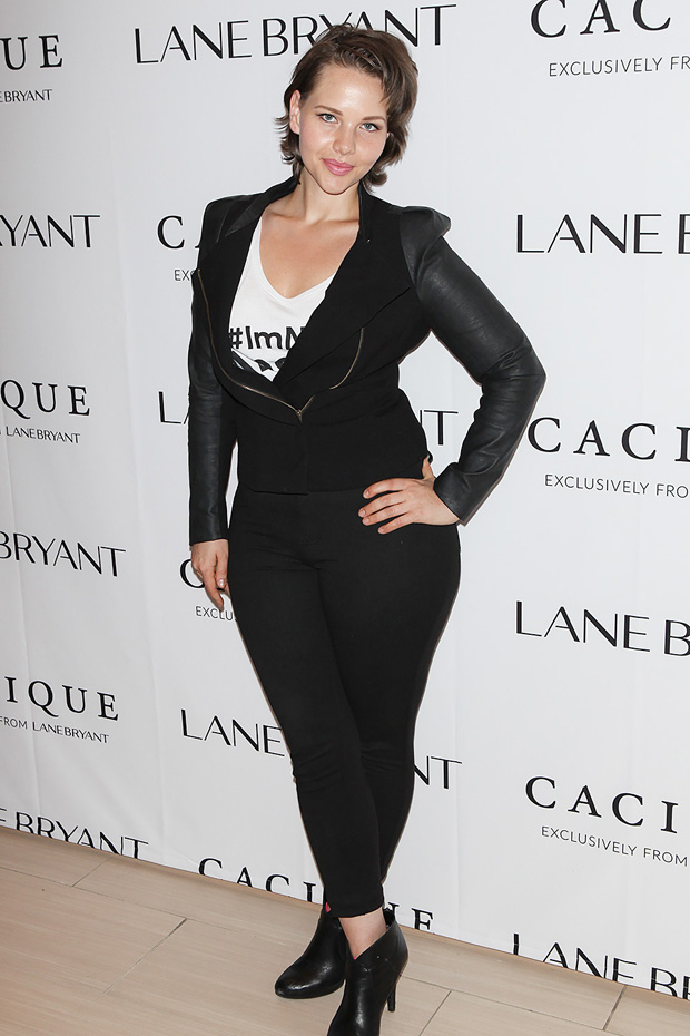 Elly Mayday Lane Bryant 'ImNoAngel' campaign launch, New York, America - 06 Apr 2015
