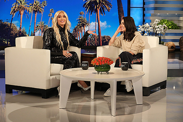 Erika Jayne on 'Ellen', March 2019