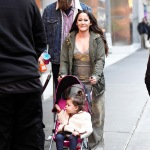 **USE CHILD PIXELATED IMAGES IF YOUR TERRITORY REQUIRES IT**  Jenelle Evans and her husband David Eason takes their daughter Ensley Eason and their stepdaughter Maryssa Eason out for lunch in Times Square after attending a fashion show in New York City this morning  Pictured: Jenelle Evans,Ensley Eason,Maryssa Eason,David Eason Ref: SPL5062093 080219 NON-EXCLUSIVE Picture by: Elder Ordonez / SplashNews.com  Splash News and Pictures Los Angeles: 310-821-2666 New York: 212-619-2666 London: 0207 644 7656 Milan: 02 4399 8577 photodesk@splashnews.com  World Rights, No Portugal Rights
