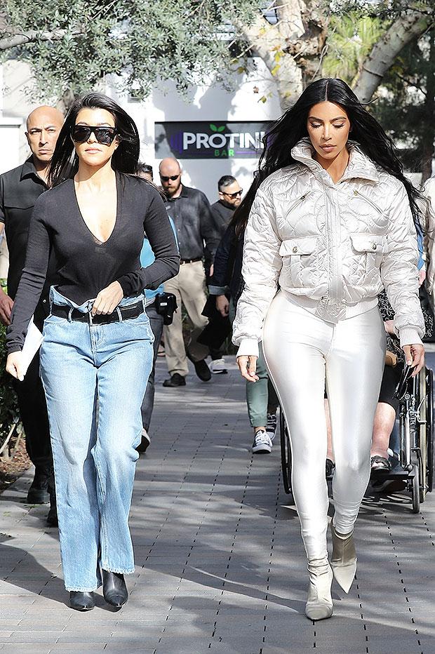 Kim Kardashian White Outfit