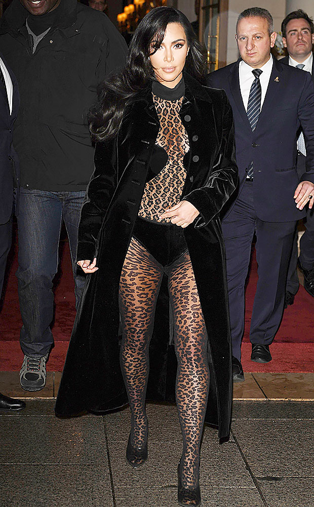 Kim Kardashian Paris, France March 2019