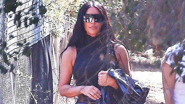 Kim Kardashian Pleather Pants