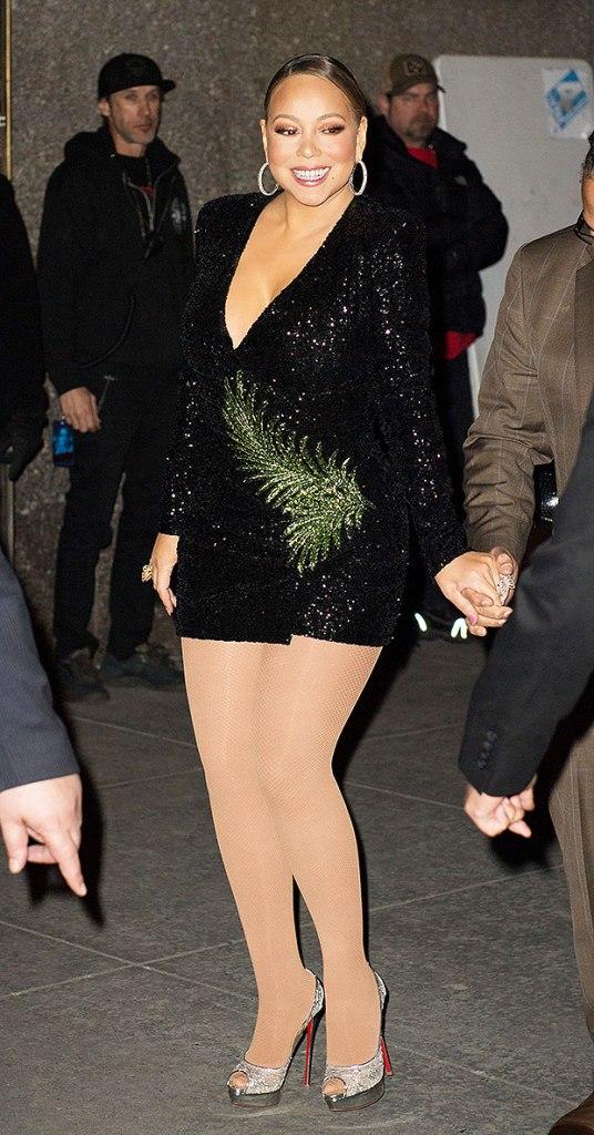 Mariah Carey Sparkle Dress
