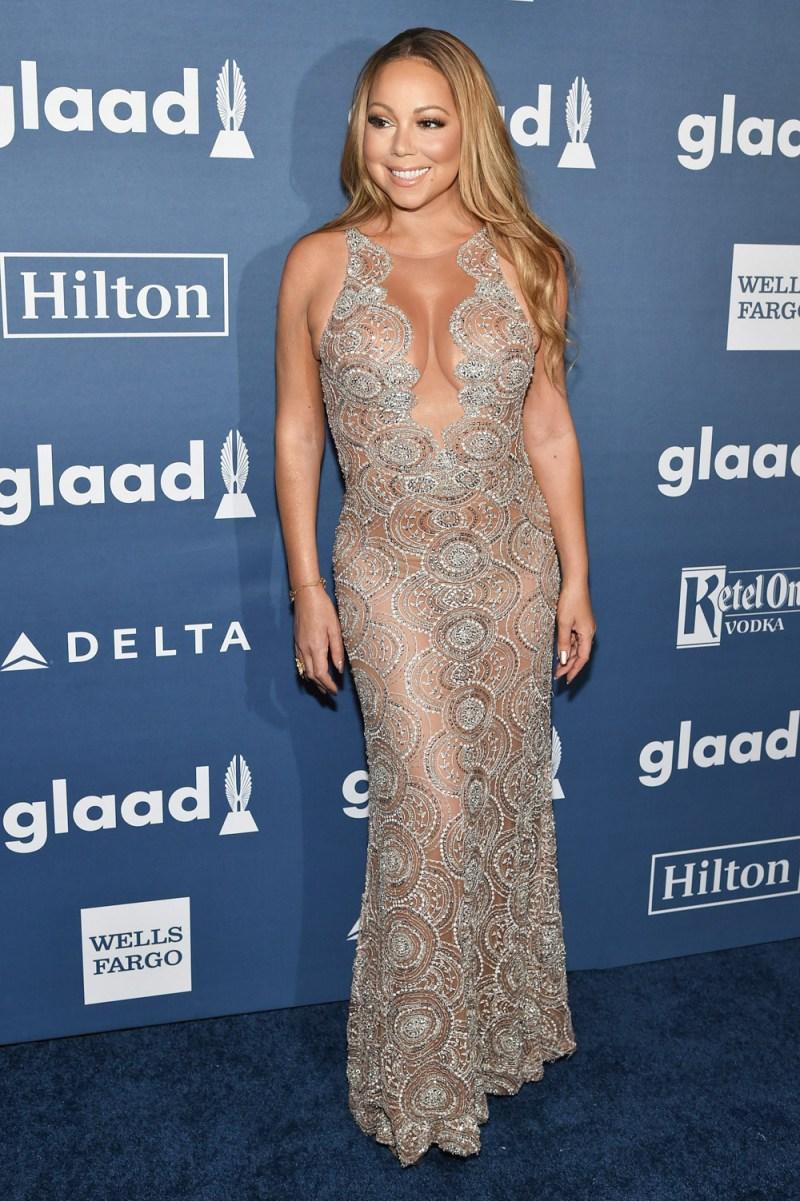 Mariah Carey S Red Carpet Looks Pics Hollywood Life