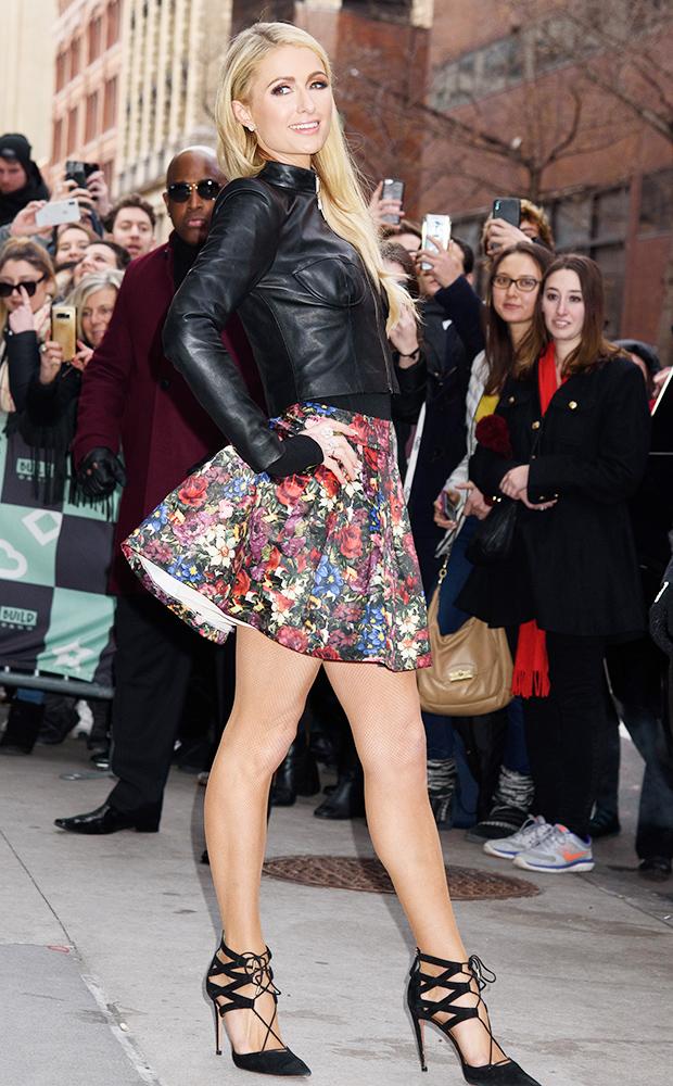 Paris Hilton Exits Build Series in NYC